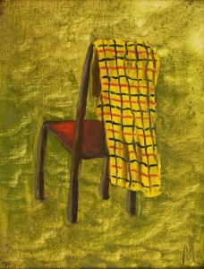 Chair with Rug